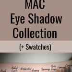 My Custom Neutral MAC Eye Shadow Palette Collection & Swatches 1