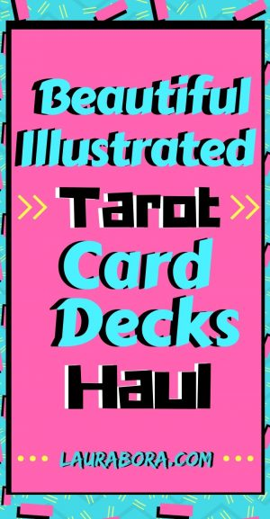 Beautiful Illustrated Unique Tarot Cards Deck Haul - Blog Post. Read in full here: https://laurabora.com/2019/03/beautiful-illustrated-tarot-card-decks-haul.html This post is a haul of my new unique tarot cards decks with beautiful illustration and design. These are cool tarot cards deck to buy #tarot #tarotcards #spiritual